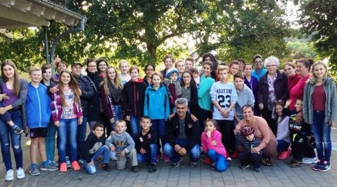 7C besucht Flüchtlingsheim